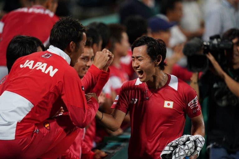 Japão vence o par e garante qualificação da Davis Cup Finals de 2019