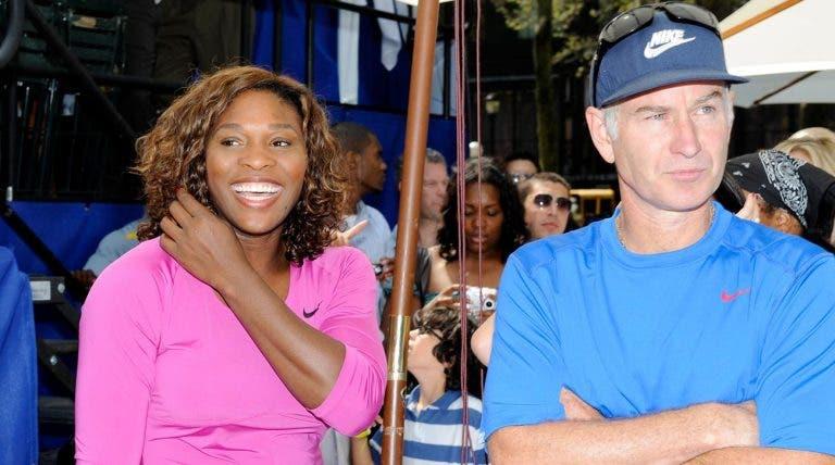 McEnroe compreende atitude de Serena: «Eu teria feito pior»