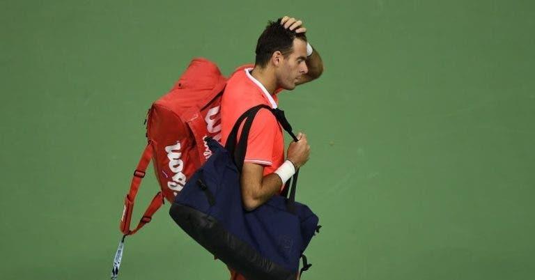 Confirmado: Del Potro desiste do Australian Open