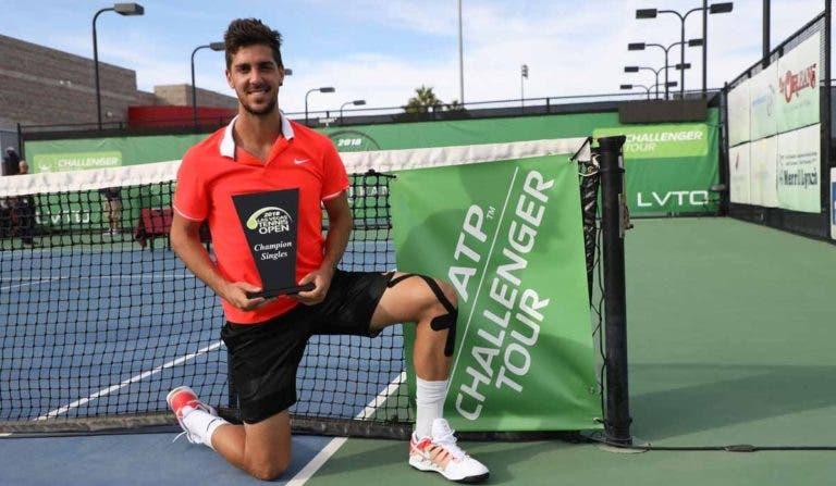 'Happy in Vegas'. Thanasi Kokkinakis conquista segundo título Challenger do ano