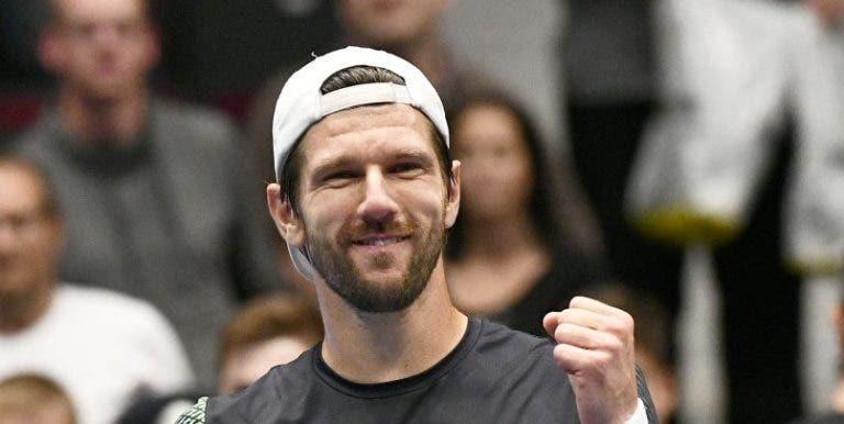 Melzer: «Continuo a jogar ténis porque amo a modalidade»