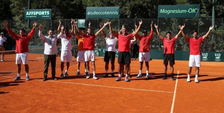 Portugal vai ao Cazaquistão no qualifying das Davis Cup Finals