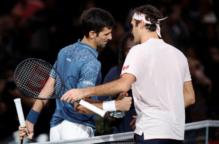 Vajda: «Djokovic disse-me que quer ultrapassar o recorde de Grand Slams do Federer»