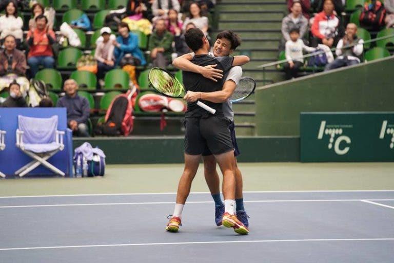 Gonçalo Oliveira campeão de pares no Challenger de Kobe