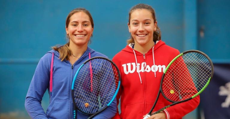 Francisca e Matilde Jorge são as primeiras irmãs a ganhar o título nacional de pares