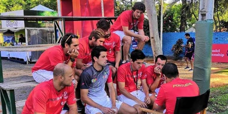 Seleção masculina perde com o Brasil e luta pelo 5.º lugar no Mundial de Padel