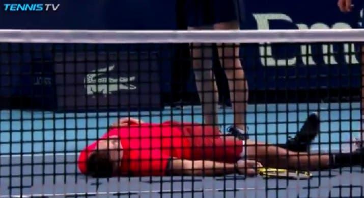 [VÍDEO] Sock atirou-se para o chão e ATP comparou-o… a Neymar
