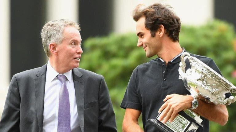 Diretor do Australian Open reage à desistência de Federer: «Queremos ver-te em 2022»