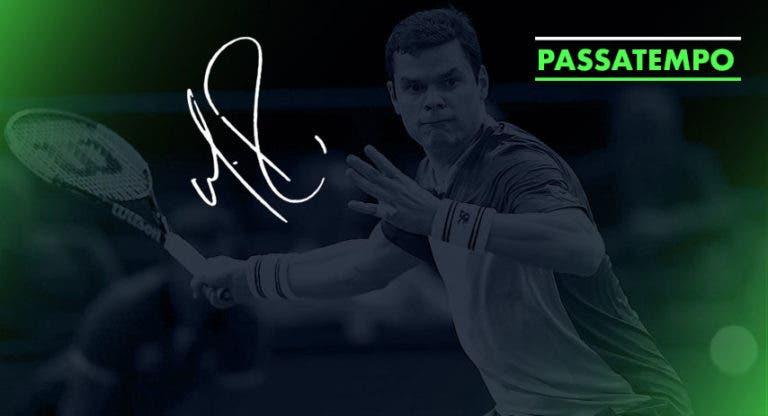 Ganhe uma raquete autografada por Milos Raonic