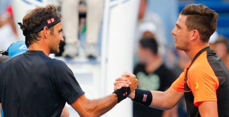Cameron Norrie: «Jogar o Federer é o sonho de todos os jogadores»
