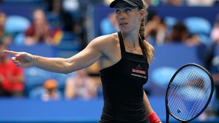 Kerber admite que pensou em retirar-se do ténis em 2020