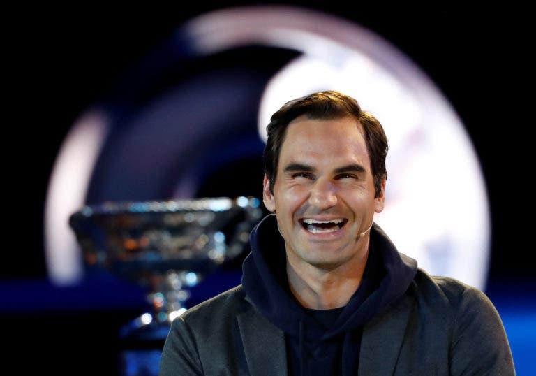 Federer reconhece: «Fiquei surpreendido com o meu atual nível de jogo»