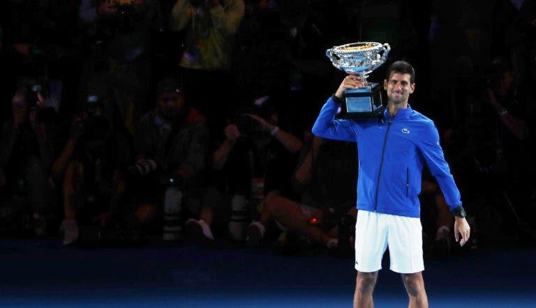 Djokovic e Osaka fazem aquilo que ninguém conseguia desde… Sampras e Graf em 1995