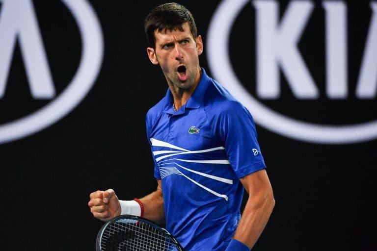 Novak Djokovic alcança feito incrível e inédito na história do ténis mundial