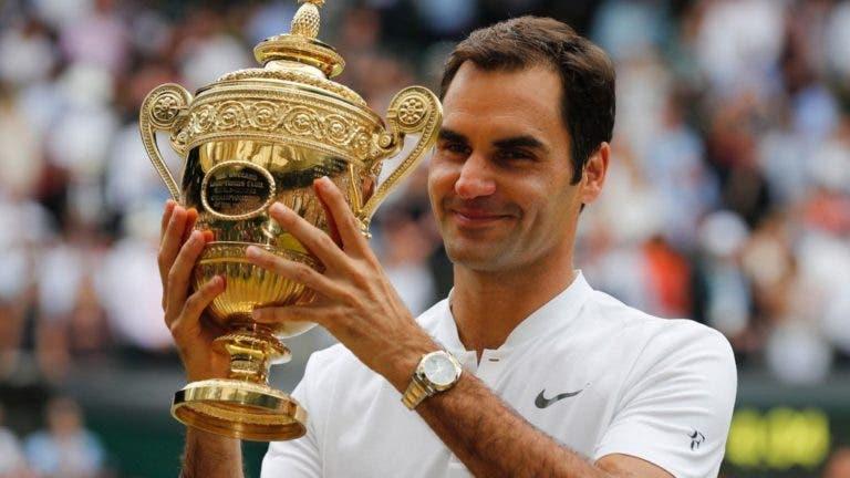 Federer diz ter saudades de Wimbledon: «Gostava de estar lá»