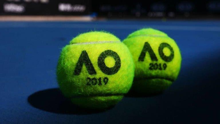 Australian Open. O quadro masculino COMPLETO