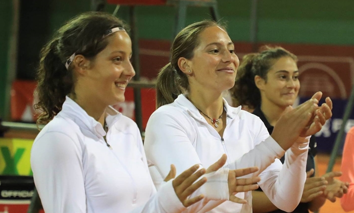 Portugal-Israel, 1-2: Francisca e Maria Inês não resistem às rivais no par