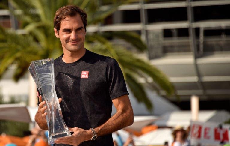 Masters 1000 de Miami riscado: Federer desiste e não defende título