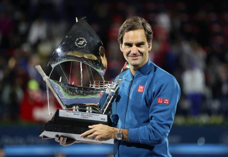 De volta ao local do centenário: Federer vai jogar ATP 500 do Dubai