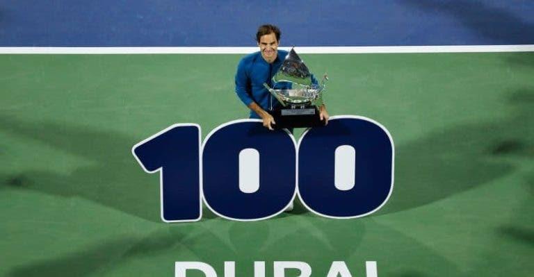 Dubai anuncia lista de luxo, com Federer e mais de metade do top 20 presente