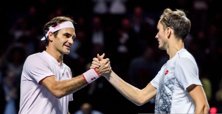 Medvedev pode ultrapassar Federer no ranking após o ATP 1000 de Paris