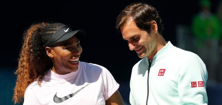 Serena rendida a Federer: «É o melhor de todos. É uma mistura de grandeza e classe»