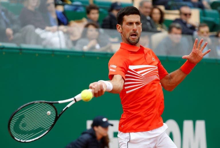 Novak Djokovic mantém Masters 1000 de Monte Carlo em agenda