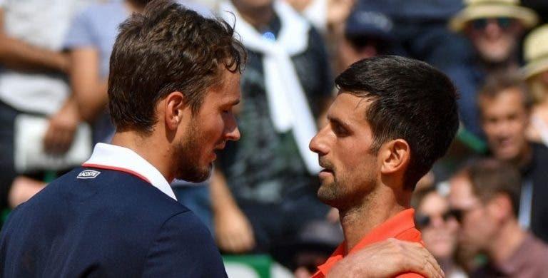 Medvedev: «Djokovic é o tipo de jogador que não suporta perder, vai querer vingar-se»