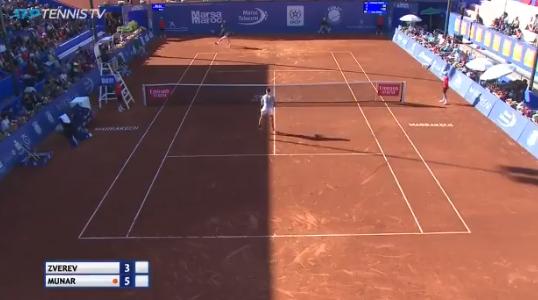 [VÍDEO] Como é que Zverev foi eliminado de Marraquexe? Graças a pontos… como este