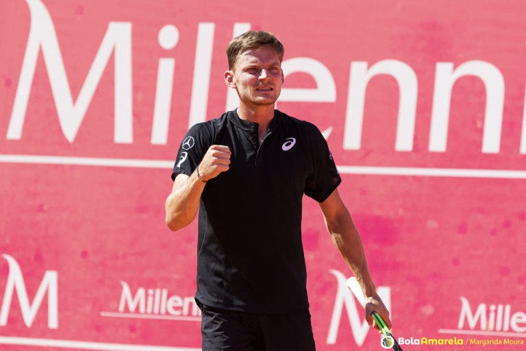 Goffin: «É fantástico começar o ano com uma prova como a ATP Cup»