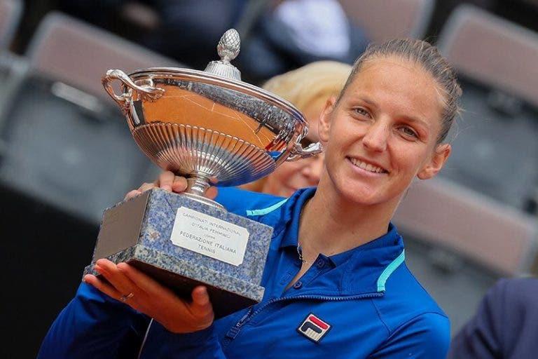 Pliskova após o título em Roma: «Se jogar assim em Paris tenho hipóteses de vencer»