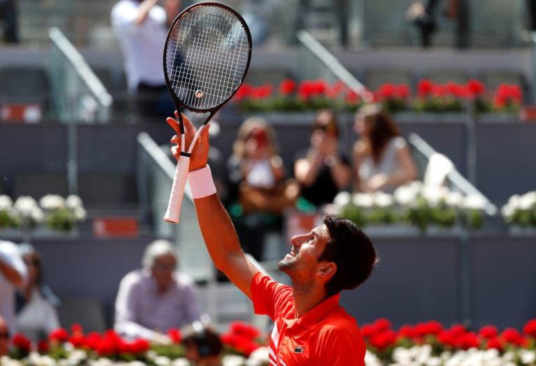 Djokovic iguala Nadal no recorde de Masters 1000 ganhos