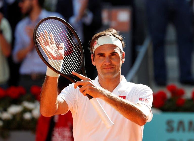 Como é que Federer consegue estar ao mais alto nível há 21 anos? O suíço explicou tudo