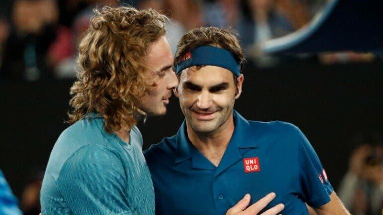 Tsitsipas quer vencer Wimbledon já este ano e releva inspirar-se em… Federer