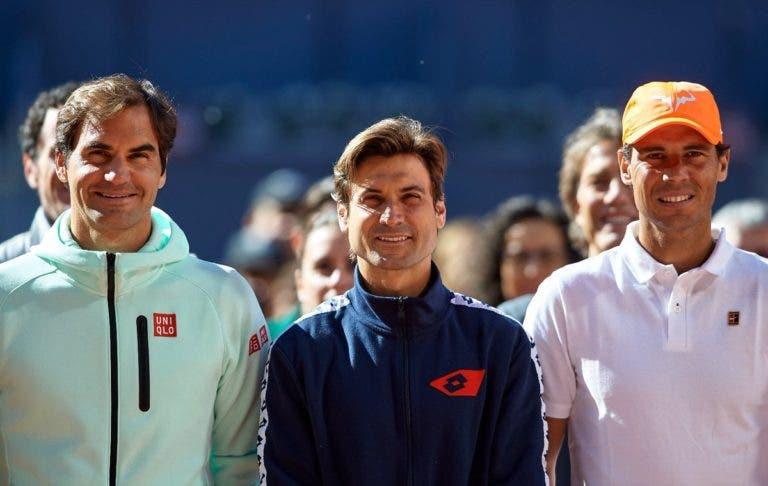 Ferrer: «Espero que o Nadal supere o recorde de Grand Slams do Federer»