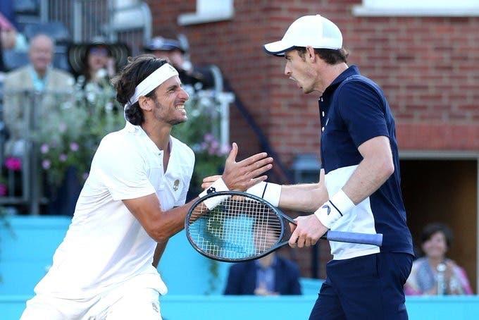 Murray e Lopez estão na final de pares em Londres
