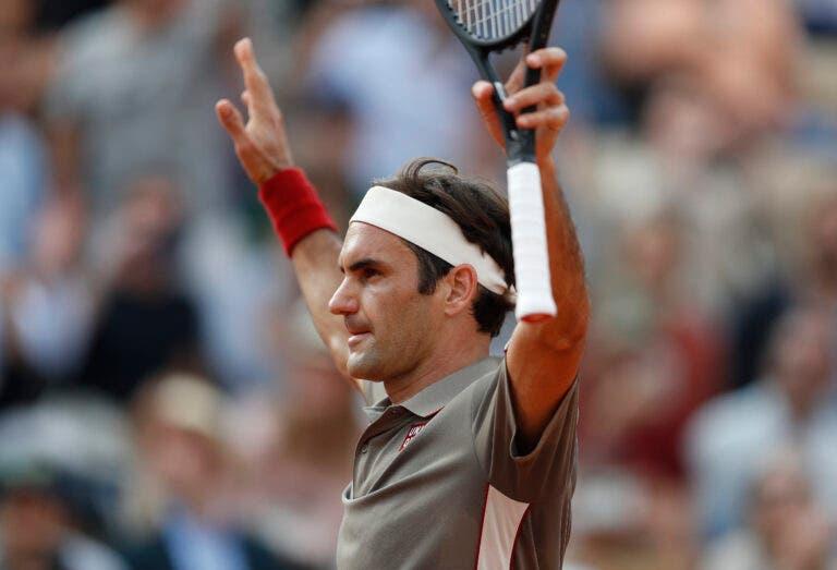 Mais um dia, mais um recorde: Federer é o primeiro jogador a ter 70 vitórias em todos os Grand Slams