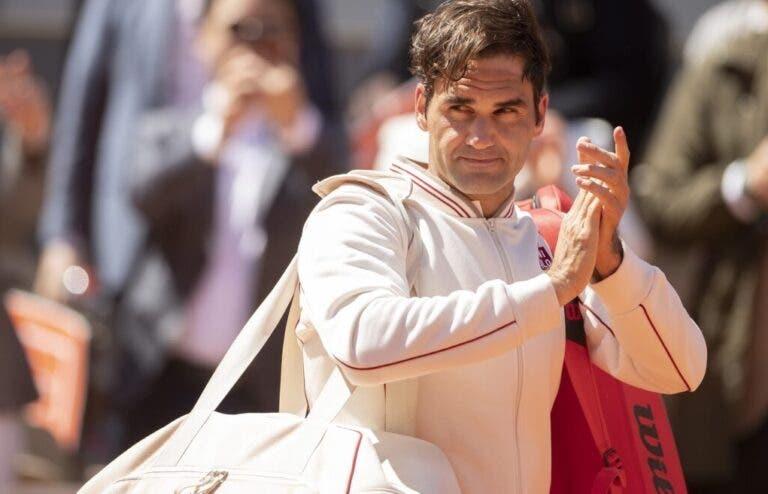 Federer deixa no ar presença em Roland Garros em 2020: «Desfrutei muito, isso ajuda para regressar»