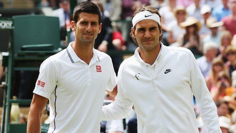 Djokovic igualou Sampras esta semana: quando pode 'apanhar' Federer?