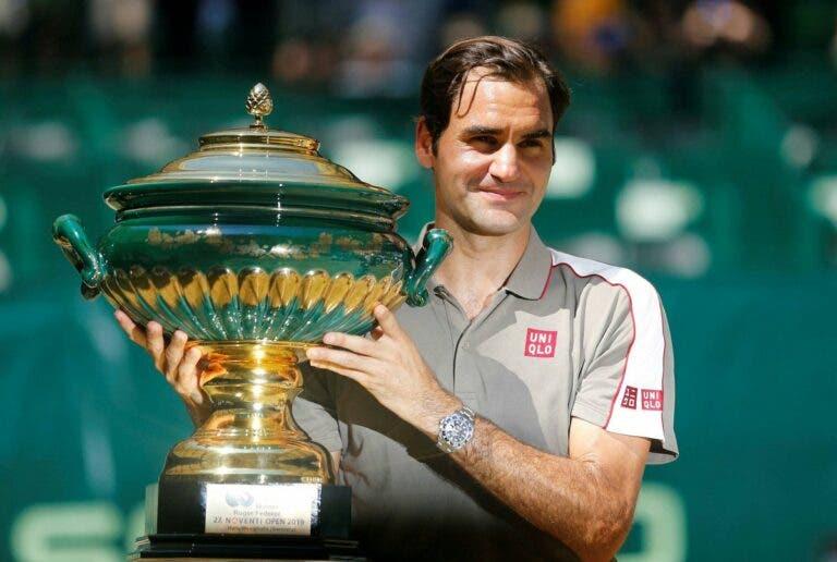 Federer: «Muitas das vezes em que joguei bem em Halle ganhei em Wimbledon»