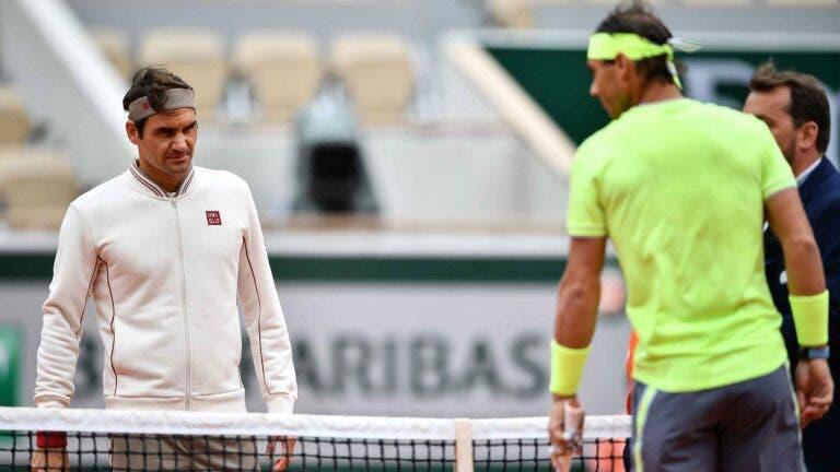 Nadal: «A minha felicidade não depende de passar o recorde de Grand Slams do Federer»