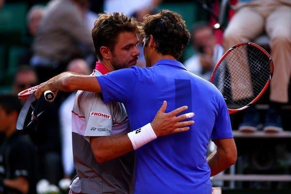 Wawrinka recorda com humor triunfo frente Federer: «Última vez que jogámos aqui ganhei. Há quantos anos foi?»