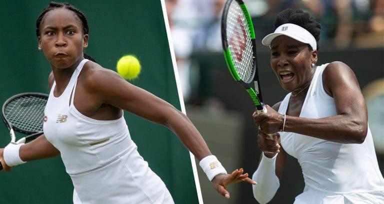 Gauff e Venus Williams jogam pares juntas em Roland Garros