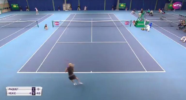 Segunda ronda do torneio de Nottingham — em relva — também se jogou em piso rápido e sem público