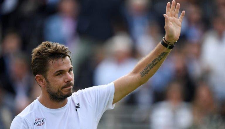 Wawrinka desiste de Wimbledon e Sousas aproximam-se do quadro principal