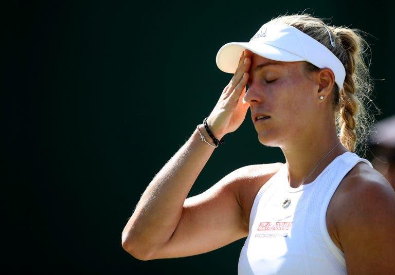 O ténis não pára e Kerber já foi eliminada no novo torneio de Zhengzhou