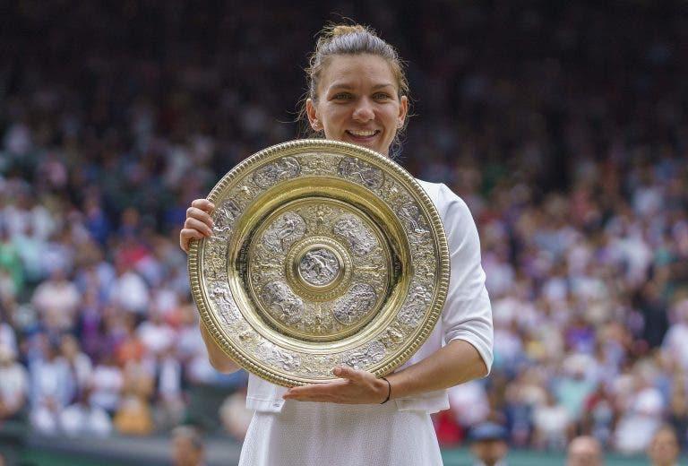 Halep: «Nunca pensei que estaria entre as campeãs de Wimbledon»