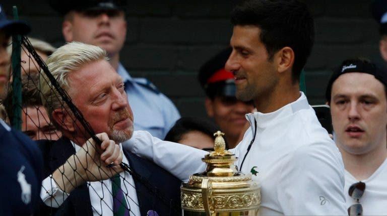 Becker: «O público não festejou a vitória do Djokovic por estar a sentir a derrota de Federer»