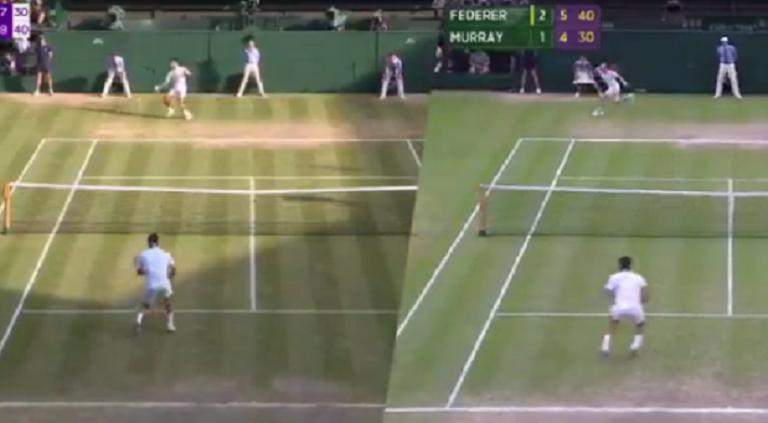 [VÍDEO] A incrível semelhança entre os match points de Federer em 2012 e 2019