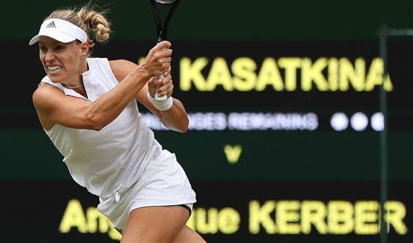 Campeã em título, Kerber é eliminada e vai sair do top 10 WTA